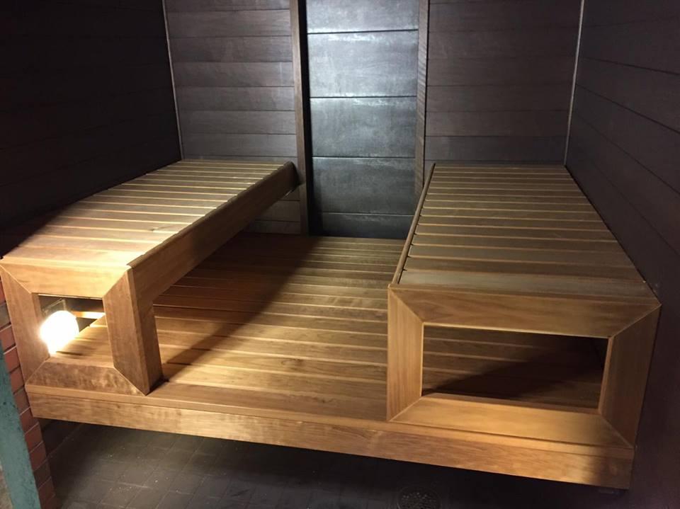 Design sauna. Varkaus, Finland