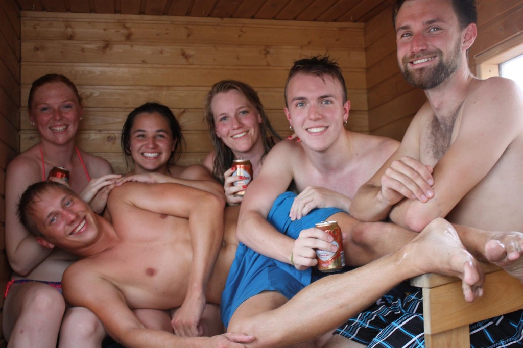 International sauna day: Mexican, Spanish, German, Swedish and Finnish